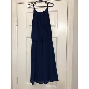Francesca's Blue Dress